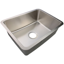 SS Undermount Single Bowl Kitchen Sink Small Radius