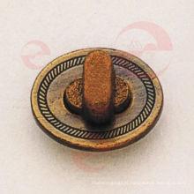 Verrou ovale pour sac en cuir (P12-231A)