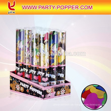 Drücken Sie auf Pressluft-Party Poppers