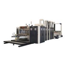 Automatic corrugated paperboard carton box flexo slotter printing making machine
