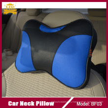 Leather Combination Luxury Neck Rest Pillow for All Car Truck Taxi