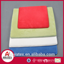 Memory foam door mat gel foam backing anti-slip area rug with foam backing