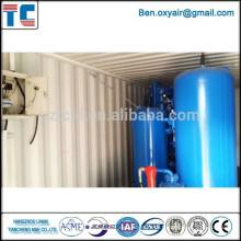 Fábrica de produção de oxigênio com excelente serviço pós-venda