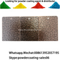 Tembaga antik paku tekstur vein finish powder coating