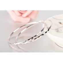 Perhiasan Light Berat 925 Sterling Silver Hoop subang
