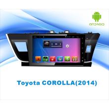 Navegación del GPS del coche del sistema del androide para Corolla 10.1 pulgadas con Bluetooth / WiFi / TV / MP4 / USB