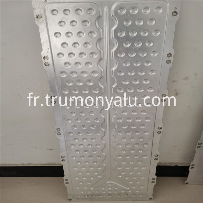 Aluminum Brazed Water Cooling Plate10