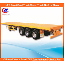 40ft 3 Axle Flat Bed Trailer Container Loading Flatbed Semi Trailer