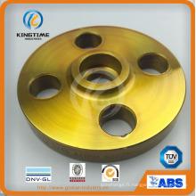 ASME B16.5 carbone Douille acier soudure bride Bride forgée avec TUV (KT0185)