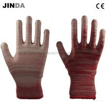 Полиуретановые защитные гуаты Рабочие перчатки для гусениц (PU004)