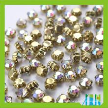 888 crystal chatons sew on glass chaton