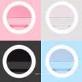 Self Artifact LED Ring Flash Fill Night Flash Light Clip Photo Camera for Cell Phone Smartphone Self-timer Beauty Light