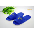 Zapatilla de toalla Toe Open Blue Toe Slipper