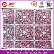 la même conception avec deux couleurs cire imprimé tissu africain