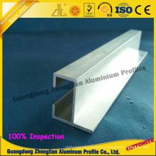 Extrusão de alumínio de uso geral de Listello para o uso da mobília