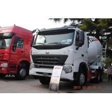 Caminhão do misturador concreto de Sinotruk 6x4 371HP HOWO (9cube)