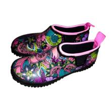 Moda Neoprene jardim sapatos