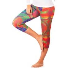 Capri Calças, Capri Legging, Hot Yoga Wear Roupas Crp-009
