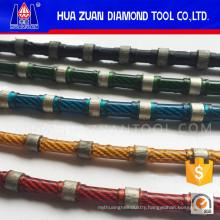 Thin Diamond Wire Saw Rope Stone Cutting