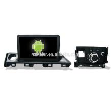 ¡Cuatro nucleos! Android 6.0 car DVD para MAZDA Atenza 2017 con pantalla capacitiva de 9 pulgadas / GPS / Mirror Link / DVR / TPMS / OBD2 / WIFI / 4G