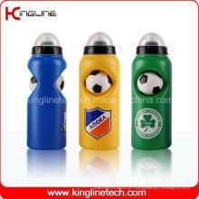 Garrafa de água de plástico, garrafa de esportes plástica, garrafa de água esportiva de 600 ml (KL-6646)