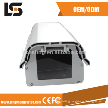 Aluminum IP66 CCTV small bullet camera housing from die casting factory