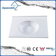 Sanitaryware Single Bowl Artificial Marble Sink Acb0905