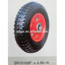 "roda de borracha maciça 8 ""X2.50-4"