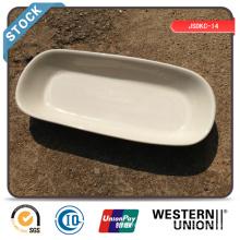 "Plaque Rectangulaire 10 ""(bord blanc) en stock"