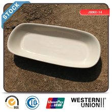 """Cheap 10"""" Rectangle Plate (white edge) in Stock"""