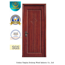 Chinese Design Water Proof MDF Door for Interior with Solid Wood (xcl-817)