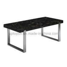 Modern Outdoor Rectangle Working Table with Metal Leg (SP-GT439)