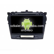 sistema multimedia del coche, DVD, radio, bluetooth, 3g / 4g, wifi, SWC, OBD, IPOD, enlace espejo, TV para suzuki vitara