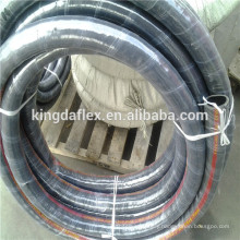 High Temperature Steel Wire Helix Embedded Hydraulic Hose SAE J517 TYPE 100R4