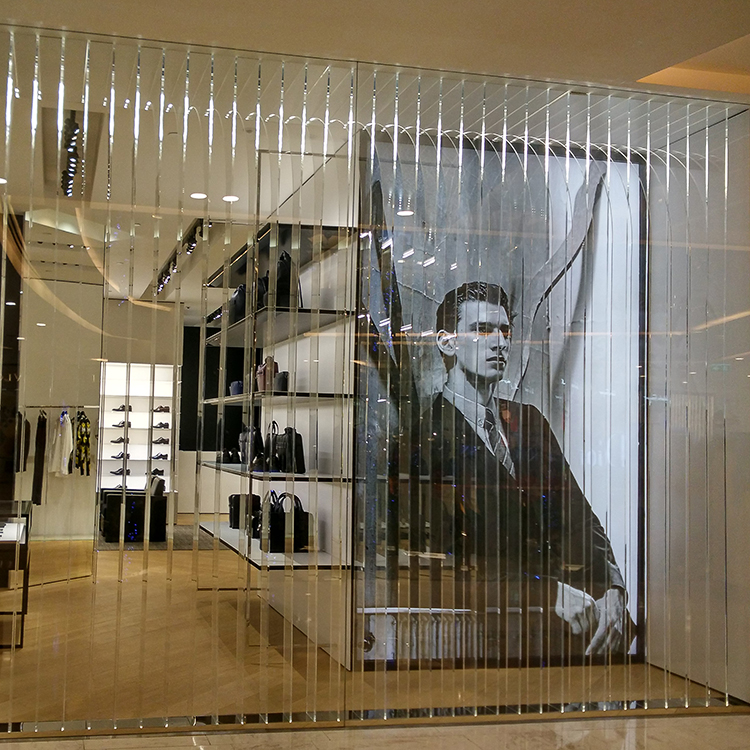 Large Acrylic Store Decoration Dior 3