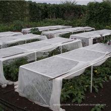 Tissu hydrophobe doux semblable au coton Sss Agriculture