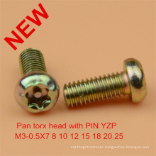 Pan Torx Pin Screw Safety Screw