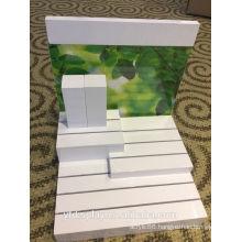 Acrylic White Cosmetics Display Holder