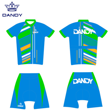Sublimation Team Cykeltröja MTB Bike Clothing