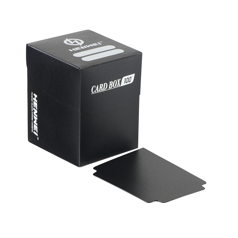 High quality game decks plastic collection packaging box