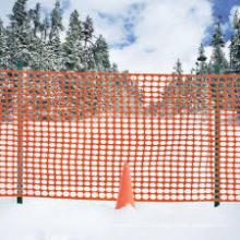 Clôture à neige / Clôture de sécurité orange / Clôture de jardin