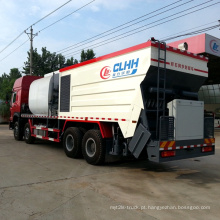 Caminhão de aferidor síncrono asfalto cascalho para pavimentação de estrada