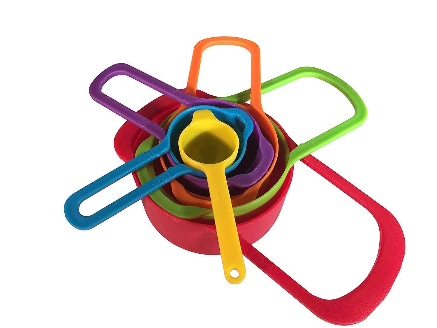 Colorful Measuring and Spoon Set
