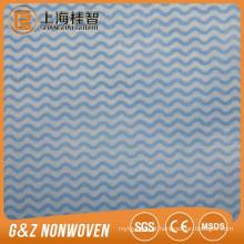 China OEM fabricar fábrica de pano de Limpeza de tecido e toalhetes de fita de onda