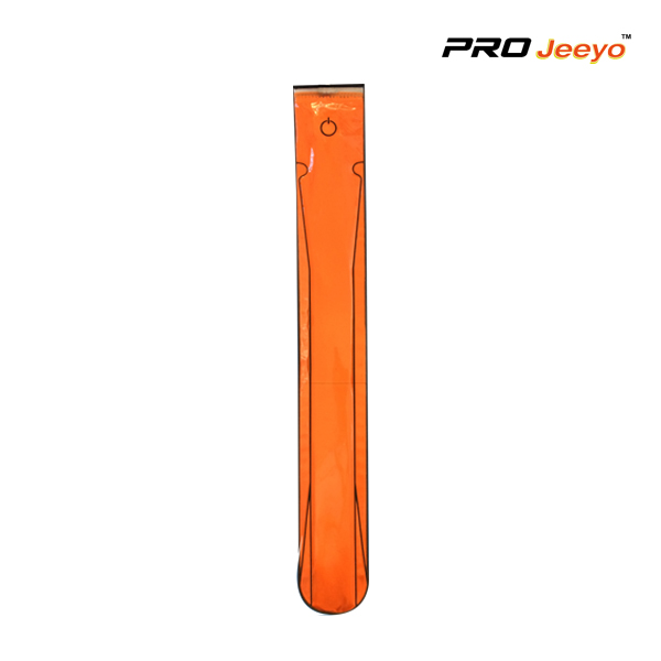 Reflective Pvc Fluo Orange Safety Slap Band Wb Max001