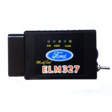 OBD modificado Bluetooth Elm327 com interruptor para Forscan
