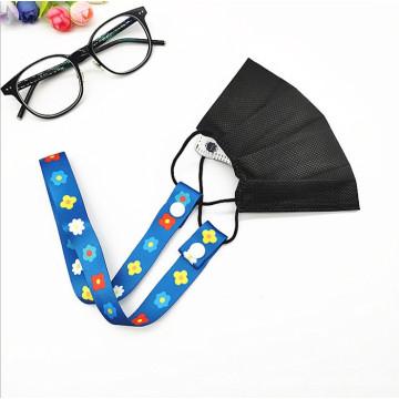 INS Style Adjustable Kids Necklace Hang Lanyard Rope Face Masking Lanyard