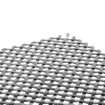 Divisor de quarto de cadeia de malha de metal decorativo em liga de alumínio