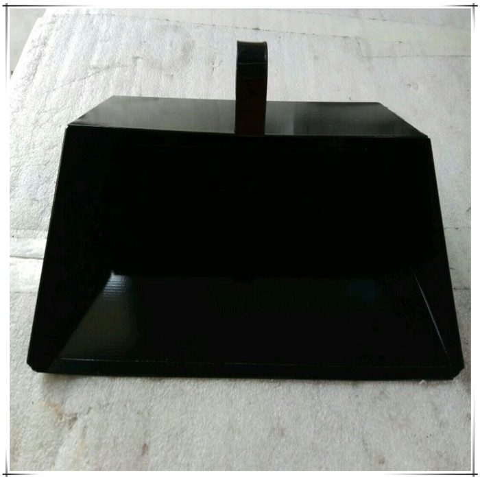 Black Steel Dustpan