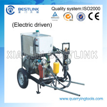 Efficent and Mobile Hydraulic Rock Drill with Pump Set